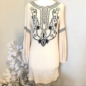 Esley Boho Gypsy Tunic Top/Dress